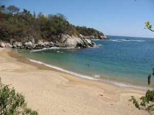 Arrocito Beach, Huatulco