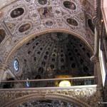 Ornate decoration of Santo Domingo church