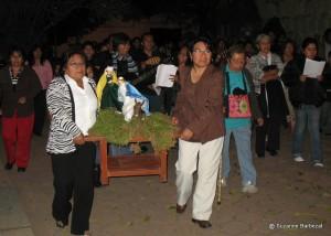 Posada procession
